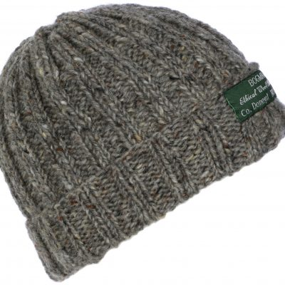 Grey Woolen Beanie from Ireland