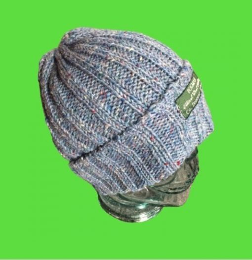 Light blue bogman beanie ethical and sustainable beanie