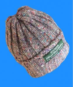 Ethical and sustainable beanie sometimes referd to as a watchmans cap