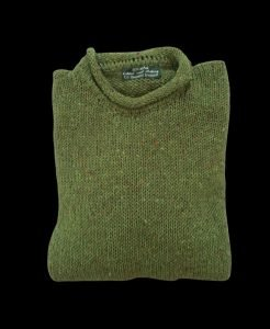 Ethical wool sweater