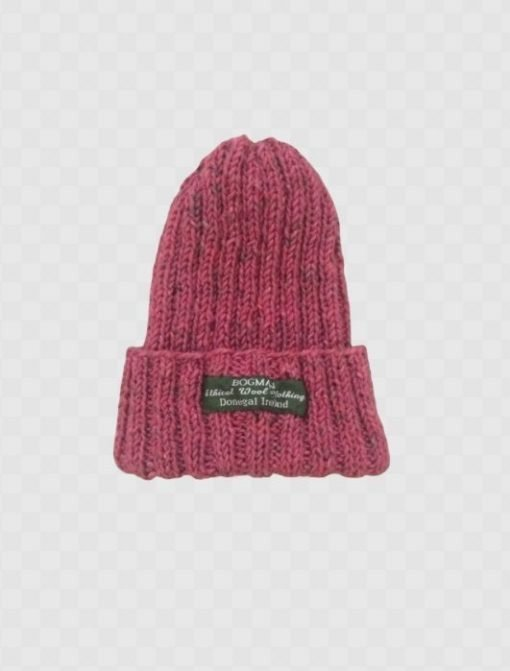 Bogman beanie OUTA PUFF ethical sustainable wool hat