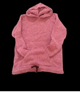 raw knitwear ethical and sustainable wool knitted hoody