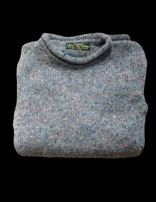 luxury knitted wool sweater from the makers of bogman beanie