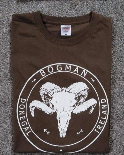 Vintage Chocolate new colour Tshirt from the folks at Bogman Beanie