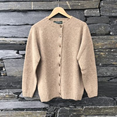 Lightweight cardigan in beige